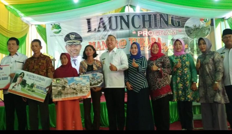 Bupati Tubaba H. Umar Ahmad, SP Launching Program Mantra